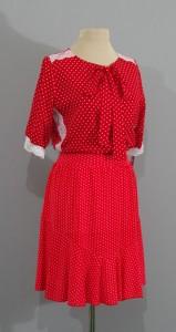 красное платье в горошек, киев
