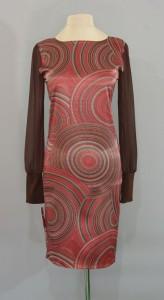 платье из сатинового шелка Gucci, Киев, Украина