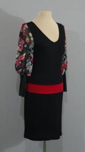 черное платье с маками, киев