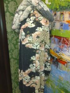 Теплая ткань для платья