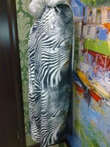Ткань зебра с леопардом