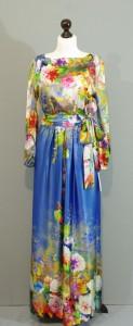 Длинное шелковое платье, Киев, Украина
