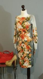 Теплое платье с цветами, Киев, Украина