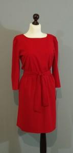 Красное шелковое платье, Киев, Украина