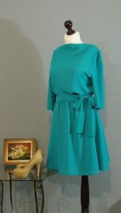 Бирюзовое платье, Киев, Украина
