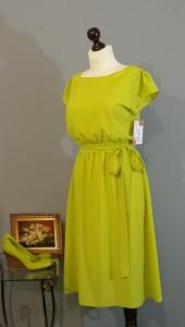 платье цвета лайм