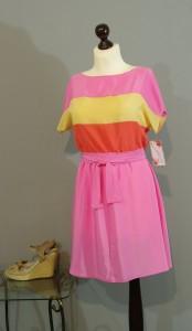 платье в стиле восьмидесятых