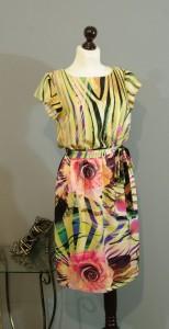 красивое шелковое платье миди платьетерапия юлия киев