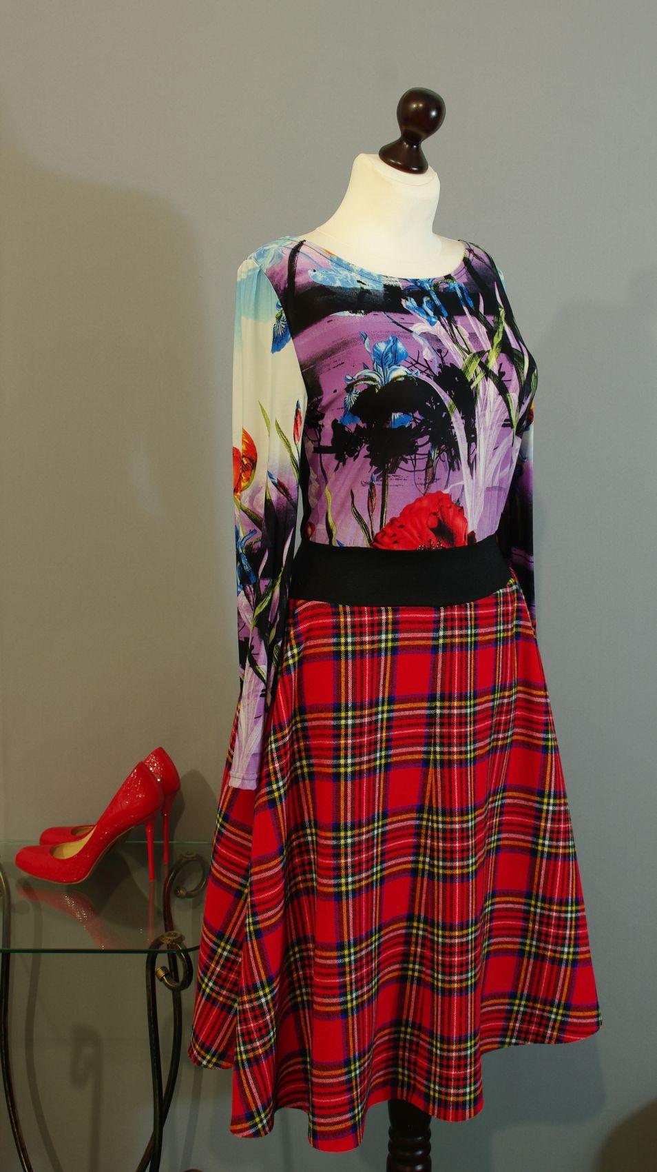 Платье Из Клетки Купить