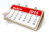 календарь март 2015