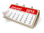календарь январь 2015