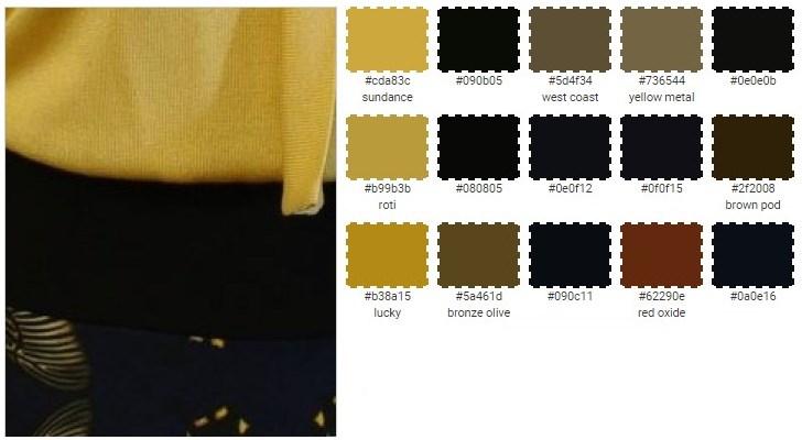 Платье желто синее доставка