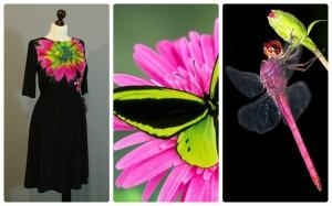 цветотип в одежде 13-1 черный розовый