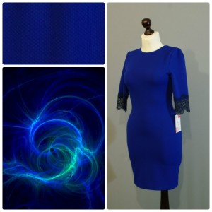 яркий цветотип в одежде синий цвет 19