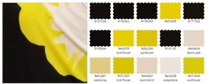 подобрать платье по цвету черный желтый