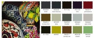 подобрать платье по цветотипу цвет черный лимонный кирпичный салатовый серый бронзовый синий