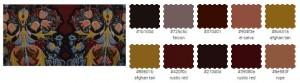 подобрать платье по цвету темный коричневый шоколад бордовый вино охра пыльная роза