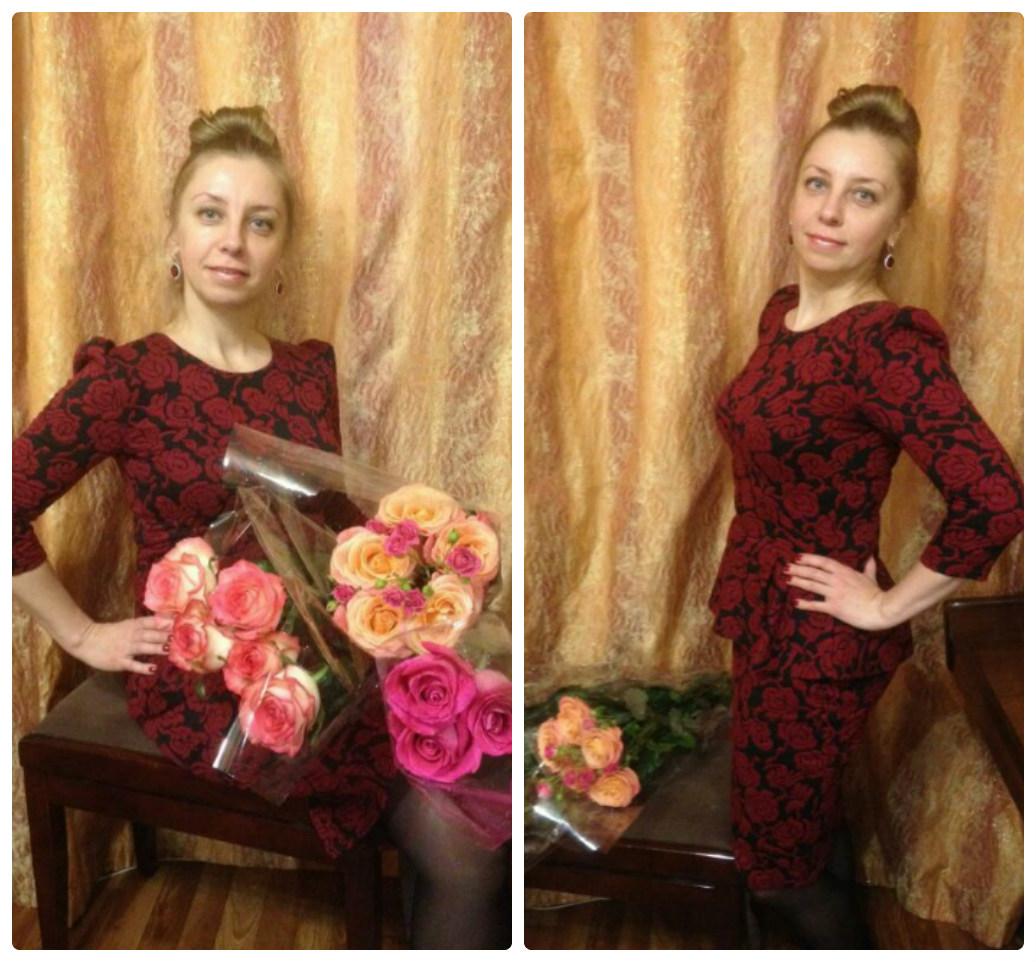 фото в платье от Платье-терапия Юлии отзыв от Татьяны