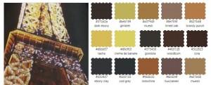 цветотип одежда оттенки черный коричневый бежевый