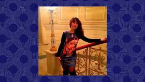 девушка с обложки Платье-терапия Лариса