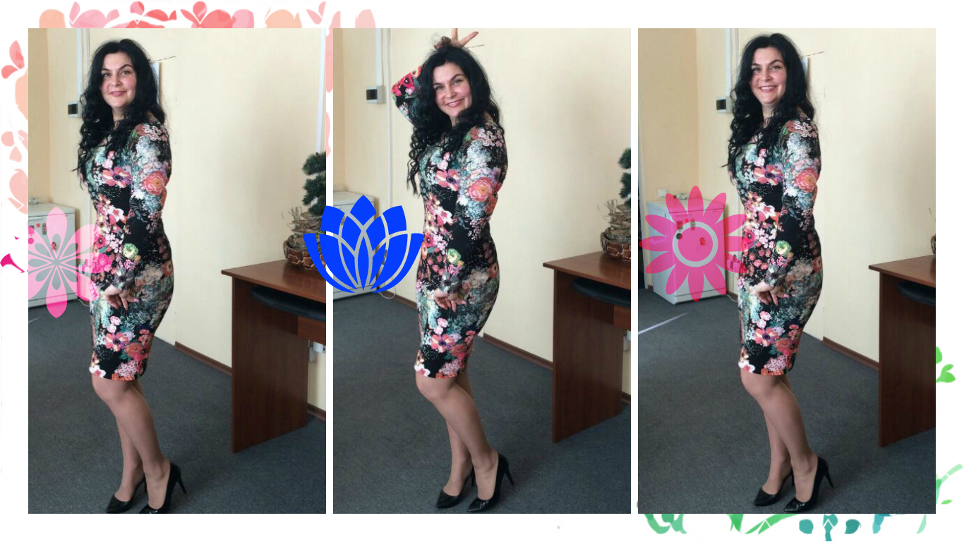 отзыв с фото о платье Платье-терапия