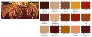 цветотип одежда бордовый рыжий охра