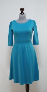 Голубое платье осень-зима, Украина