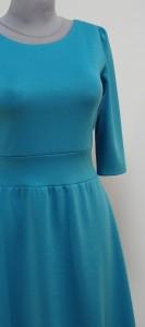 Платье с подчеркнутой талией