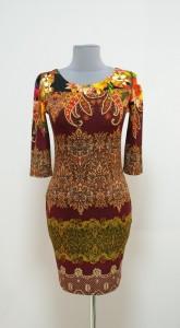Платье-карандаш длины мини, осень, Украина