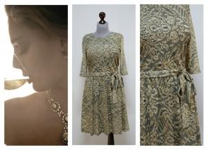 Нарядное платье на осень и зиму