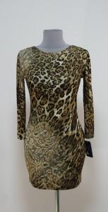 Леопардовое платье мини, Украина