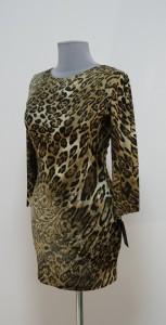 Теплое мини платье Леопард, Украина