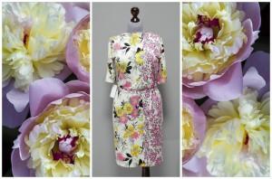 Цветочное платье на весну и лето