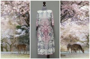 Платье пыльных оттенков от Платье-терапия