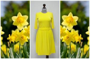 Желтое платье Платье-терапия