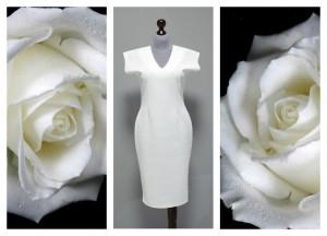 2016 белое платье