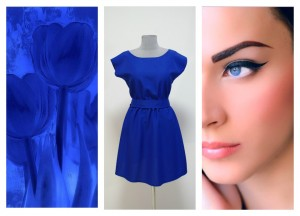 Синий цвет электрик