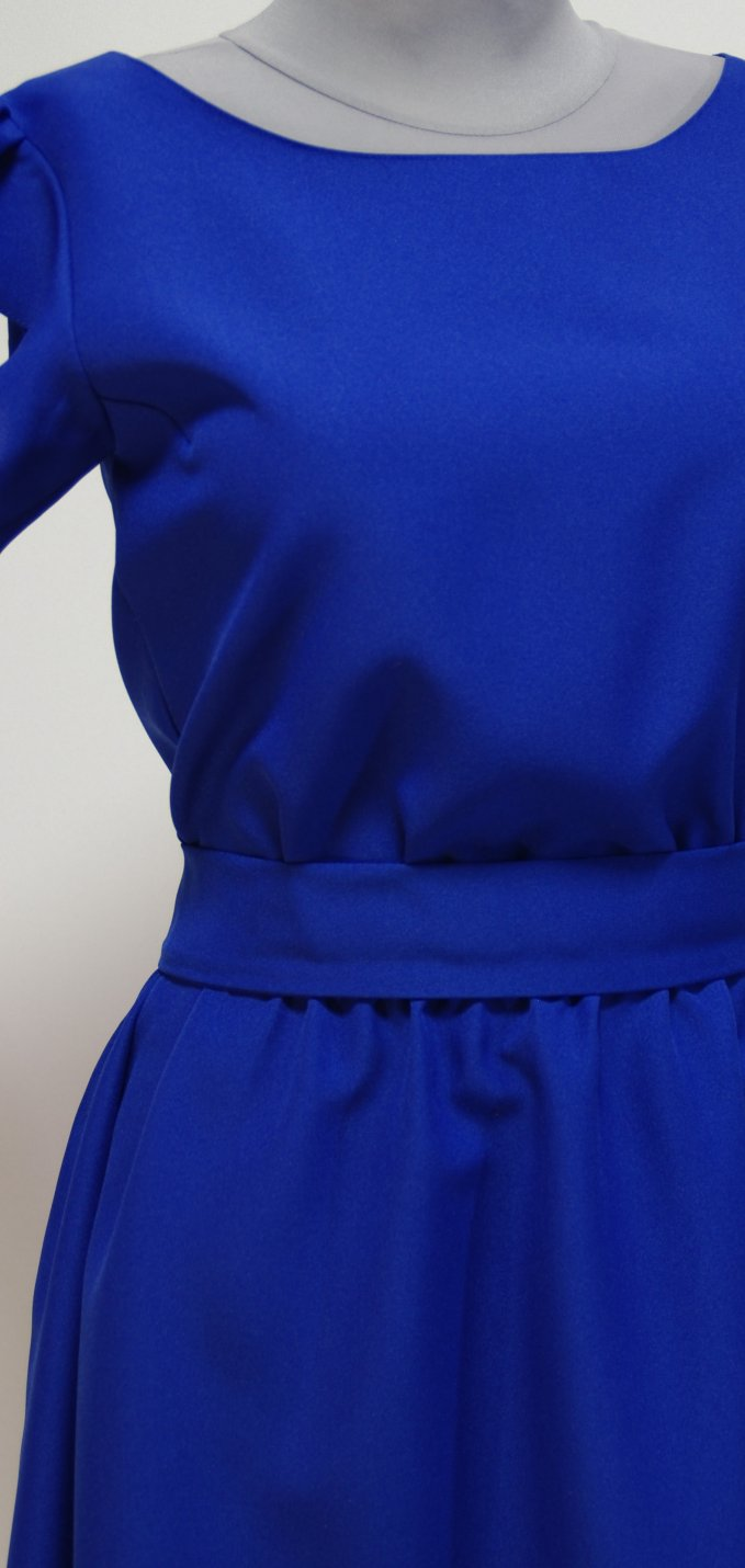 Как сделать рукава крылышки на платье 164