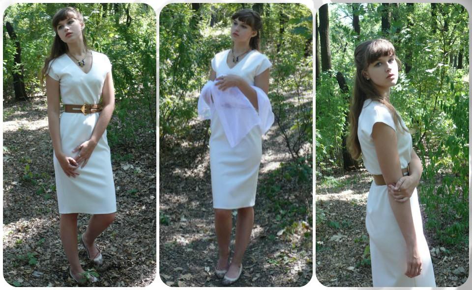 отзыв платье белое Платье-терапия