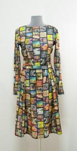Расклешенное платье осень-зима Украина