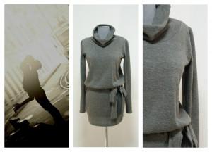 Теплое платье-туника Украина