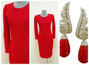 Маленькое красное платье Украина купить Киев интернет
