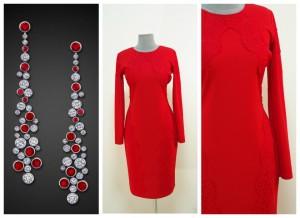 Праздничное красное платье купить Украина Киев