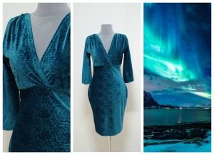 Платье северное сияние