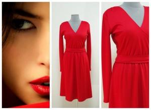 2017 Красное платье Украина