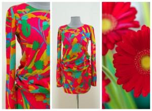 2017 модные платья из вареной шерсти
