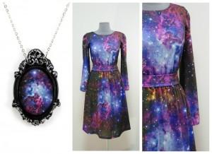 2017 звездное платье