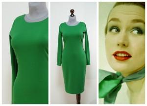 2017 зеленое платье по фигуре