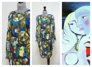 2017 платья картины Пикассо купить Украина