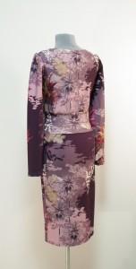 Цвет платья лаванда-баклажан фото